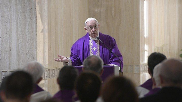 Papa: O Senhor nos perdoa se perdoarmos os outros