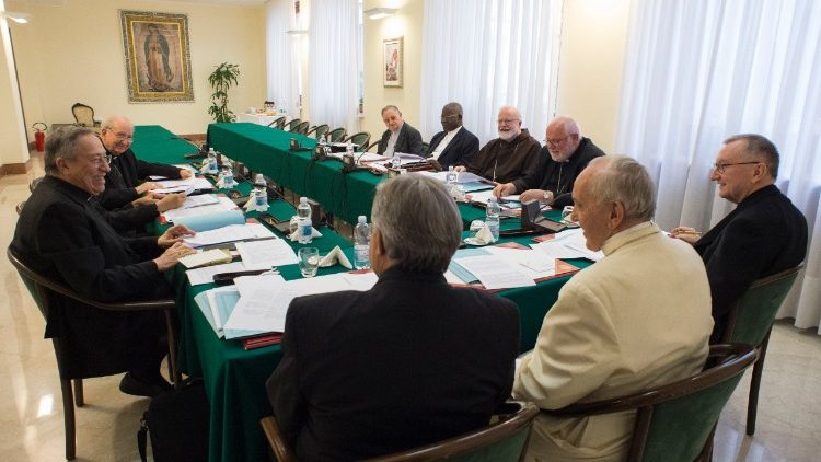 Meeting on June 12 of the C-9 Council of Cardinals