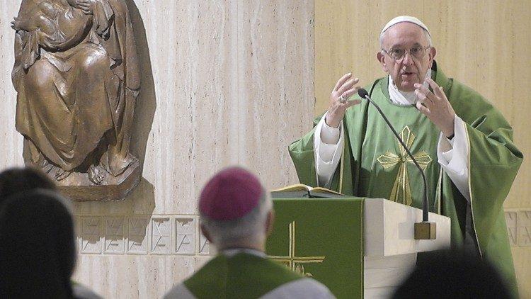 A memória cristã é como o sal da vida, diz Papa