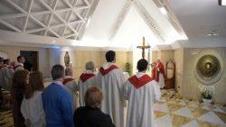 2018-05-14 Messa a santa Marta