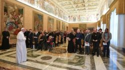 Pope Francis receives the arts movement Diakonia of Beauty