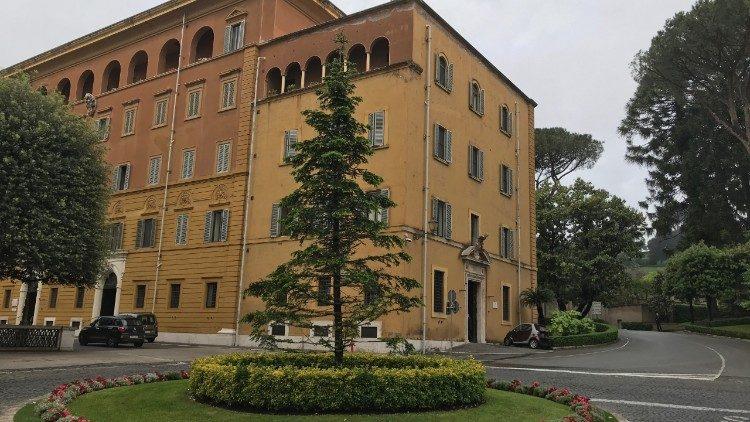 Edificio del Tribunal del Vaticano.