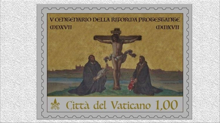 Vatican's new postage stamp on the Protestant Reformation