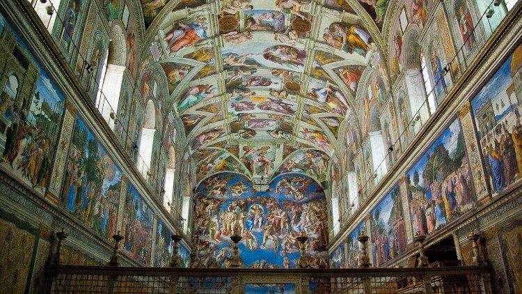 La chapelle Sixtine. Image d'illustration.