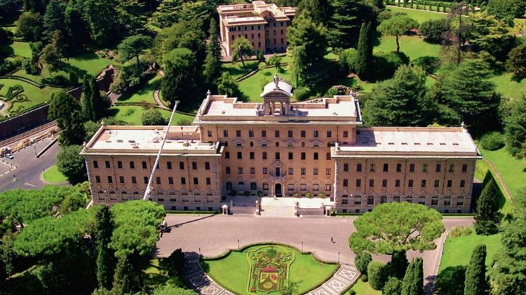 The Palazzo of the Governorate in the Vatican