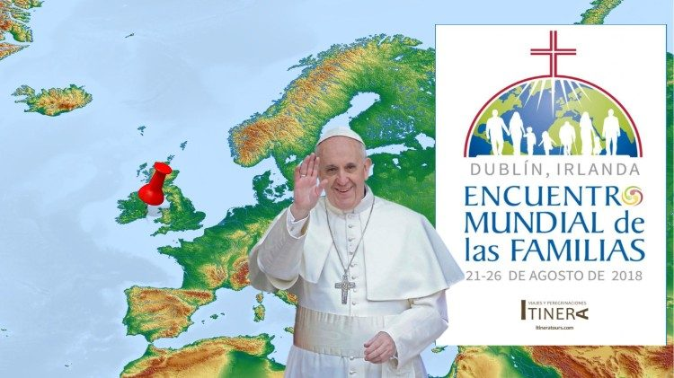Pope Francis in Ireland, August 25-26, 2018.