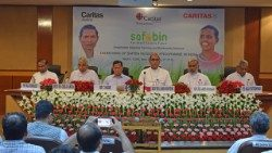 Launch of Caritas India's SAFBIN project on July 31, 2018, in New Delhi.
