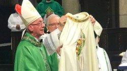 Cardeal Cláudio Hummes participa do seminário e foi recebido pelo Papa