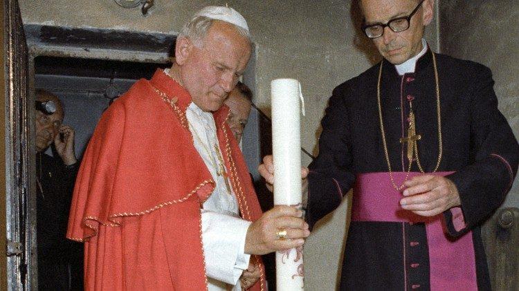Peregrinação de João Paulo II a Auschwitz-Birkenau