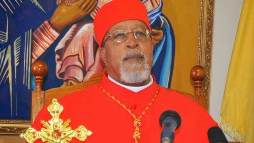 The Archbishop of Addis Ababa, Cardinal Berhaneyesus Demerew Souraphiel, C.M.
