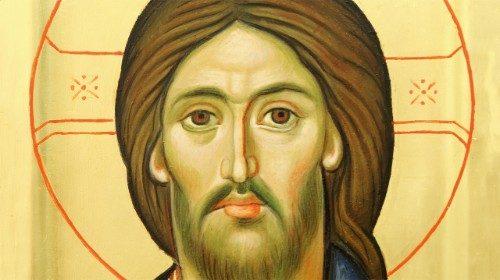 Icona Cristo, Gesu Cristo, pane di vita