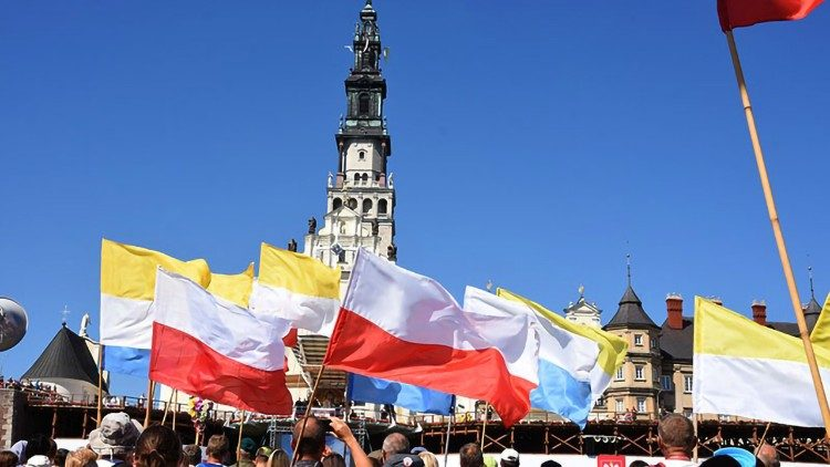 Bandiere in Polonia