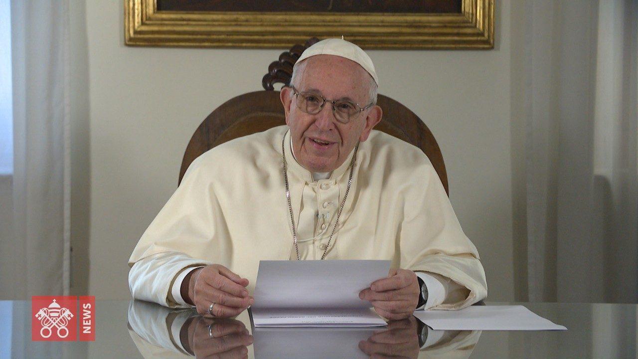 Поздравление папы франциска с рождеством