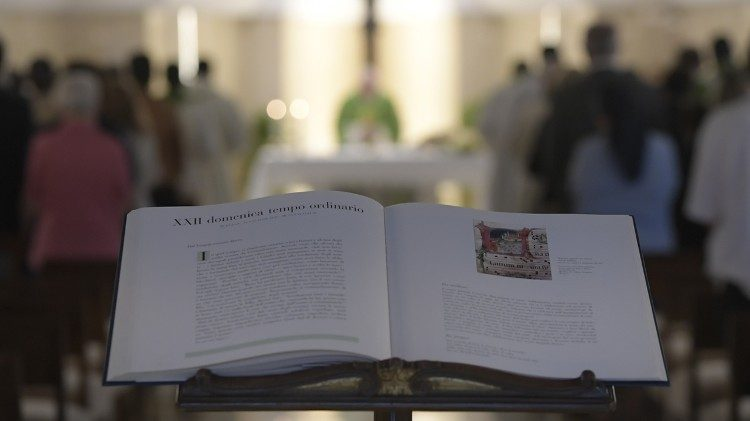 Daily Mass at Casa Santa Marta