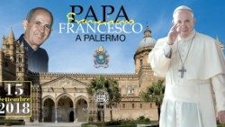 Pope Francis visits Palermo on the 25th anniversary of the assassination of Blessed Pino Puglisi.