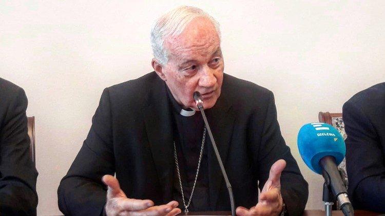 Cardenal Marc Armand Ouellet.