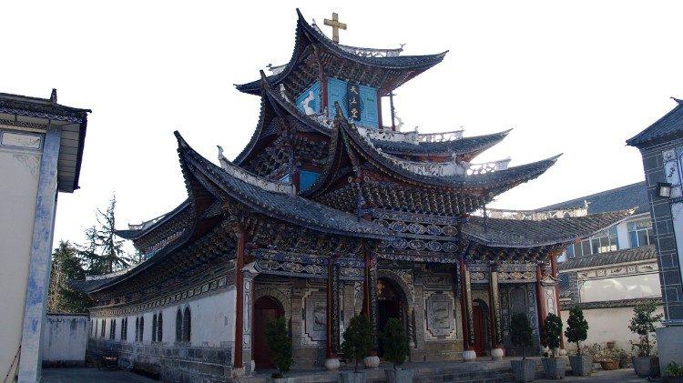 Iglesia católica Dali Acuerdo Provisorio Santa Sede China obispos