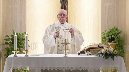 2018.10.08 Papa Francesco Messa Santa Marta