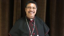 Bishop Willem Christiaans of Keetmanshoop, Namibia