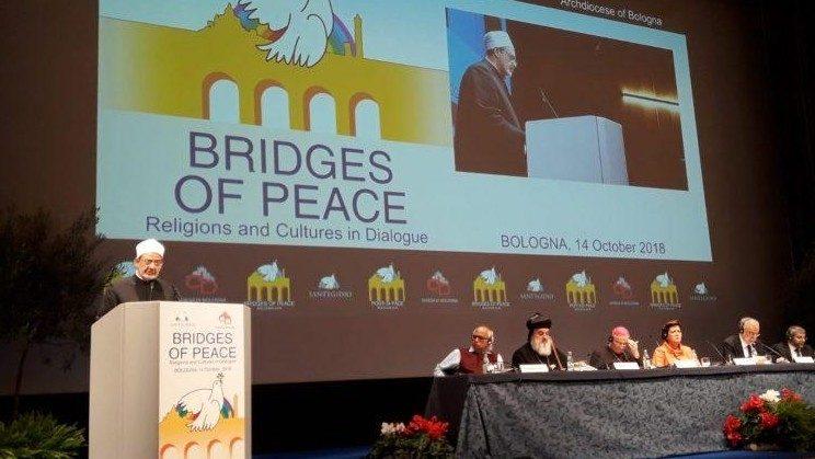 cuộc gặp gỡ cầu nguyện hòa bình tại thành phố Bologna
