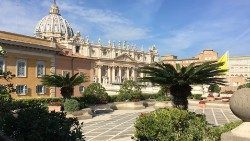 A different view of Vatican Basilica and Square