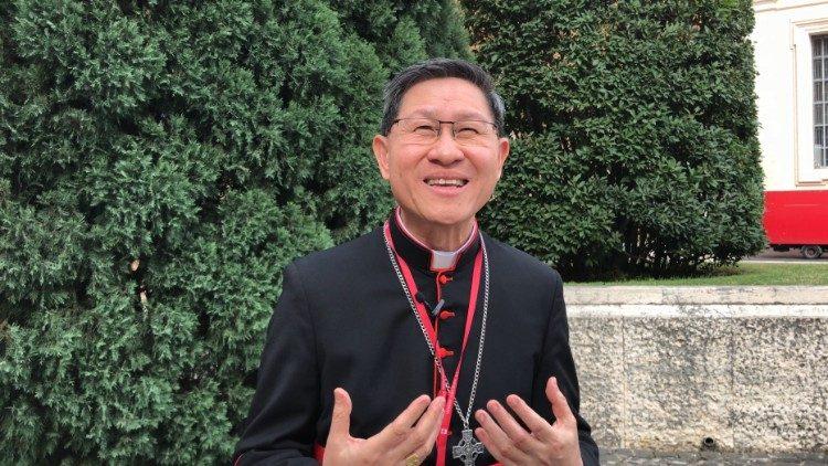 2018.10.16 Sinodo giovani: card. Luis Antonio Tagle, arcivescovo di Manila (Filippine)