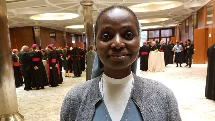 Kenyan Salesian, Sr. Lucy Nderi, an observer at the Synod  of Bishops in the Vatican