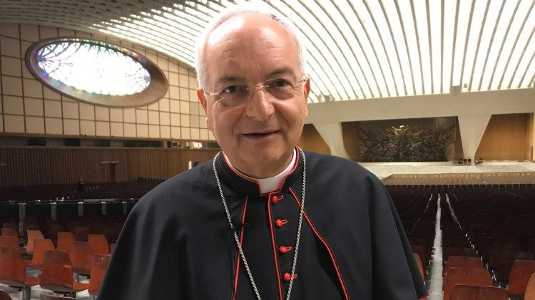 2018.10.20 Sinodo dei Giovani cardinal Mauro Piacenza