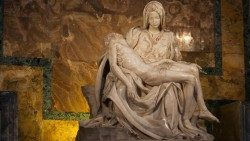 Pietà with new light settings illumine the masterpiece of Michaelangelo