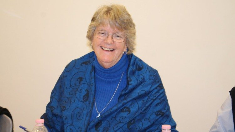 Sr Sally Marie Hodgdon, Superior General of the Sisters of St Joseph of Chambéry, one of the Synod auditors