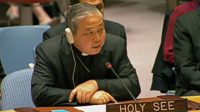 Đại diện Tòa Thánh tại LHQ kêu gọi gia tăng bảo vệ thường dân