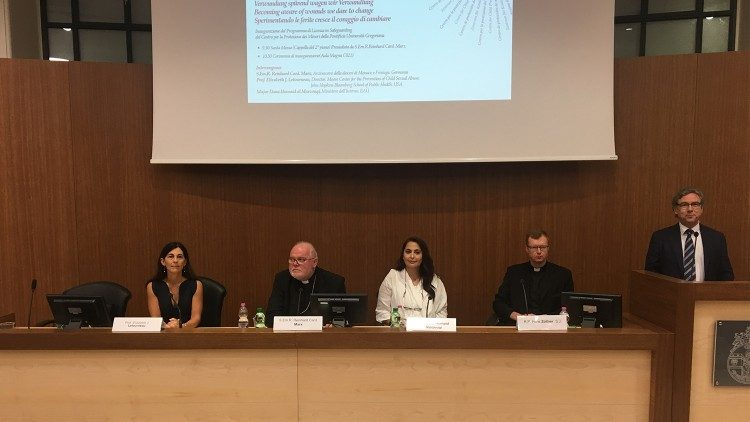 Die Pressekonferenz zum Start des Masterstudiengangs Safeguarding for Children, 5.10.2018
