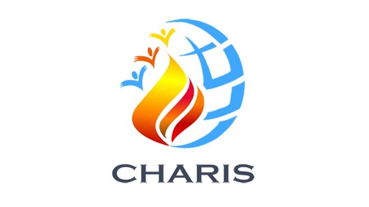 Logo for soon to be established CHARIS which will provide services to the Catholic Charismatic Renewal