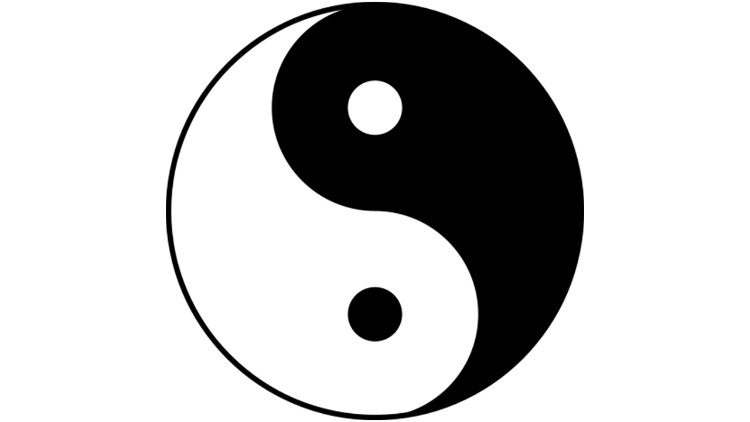 Yin-Yang image used in Taoist cosmology