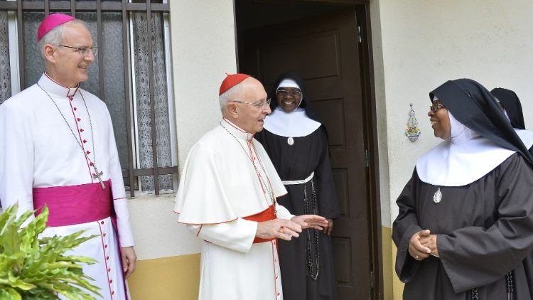 Cardinal Filoni is on a pastoral visit to Angola, this week