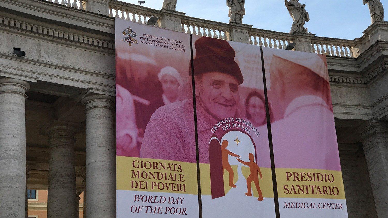 Un presidio sanitario a San Pietro per la Giornata dei Poveri