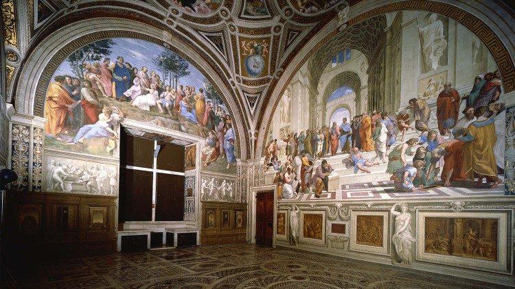 Les sompteuses Chambres de Raphaël aux Musées du Vatican.