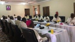 Ghanaian Bishops during a meeting