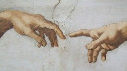Creation - of Michaelangelo from Sistine Chapel, Vatican