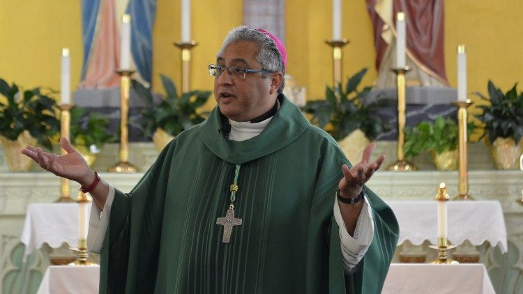Bishop Daniel Garcia, newly appointed Bishop of Monterey in California (F DeKarlos)