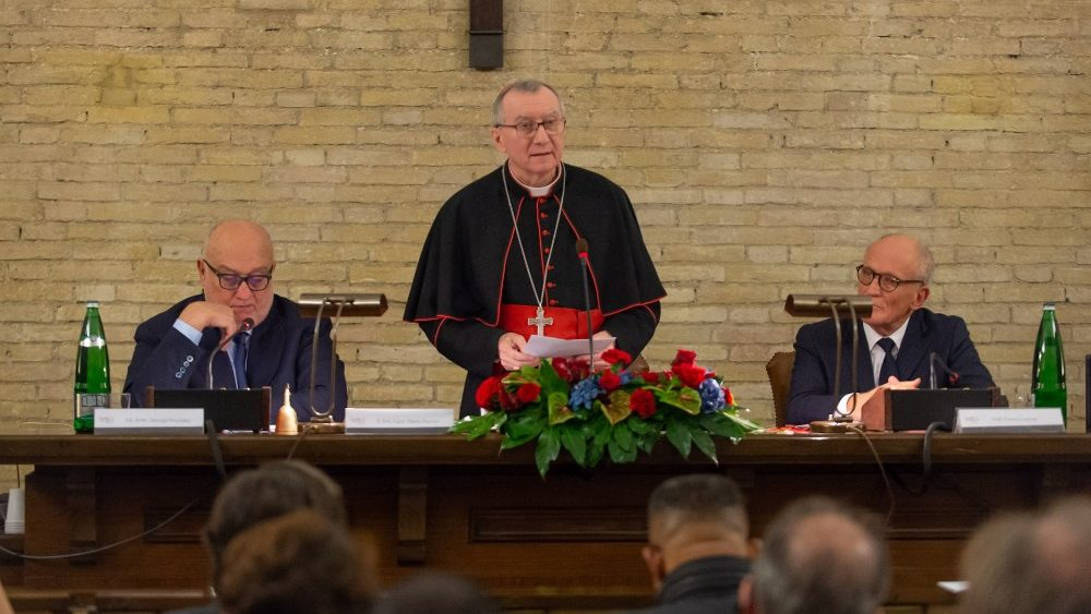 L'intervento del card. Parolin