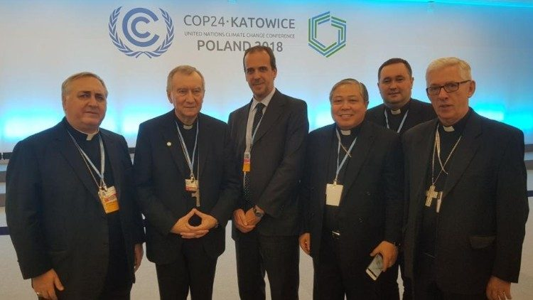 Holy See's Delegation at Cop24 in Katowice, Poland