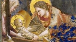 A nativity scene by Giotto