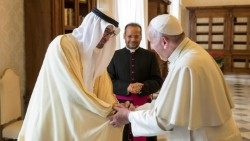 2018.12.13 crown prince of UAE in vatican 6, December 2016