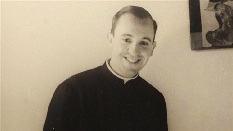 Pope Francis as a young Jesuit in his native Argentina.