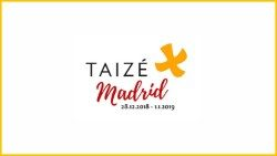 Logo of Taizé European Youth Meeting in Madrid, Spain.