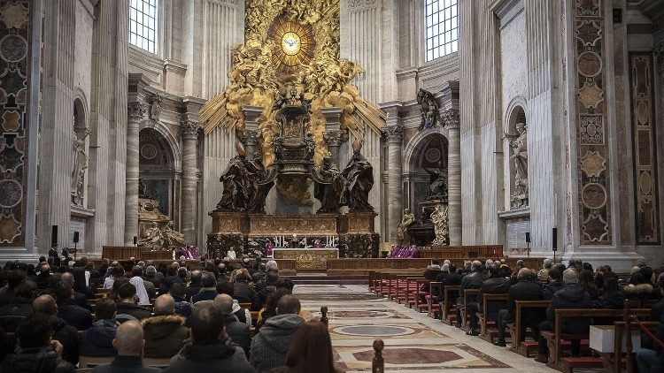 Các nghi lễ Đức Thánh Cha cử hành trong Tuần Thánh và Phục Sinh