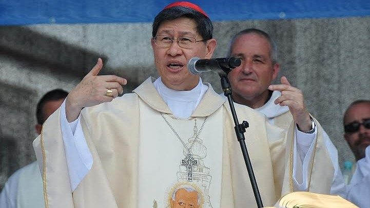 Cardinal Luis Antonio Tagle, the Archbishop of Manila.