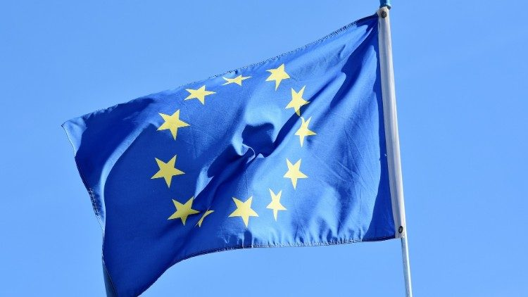 La bandiera dell'Unione europea