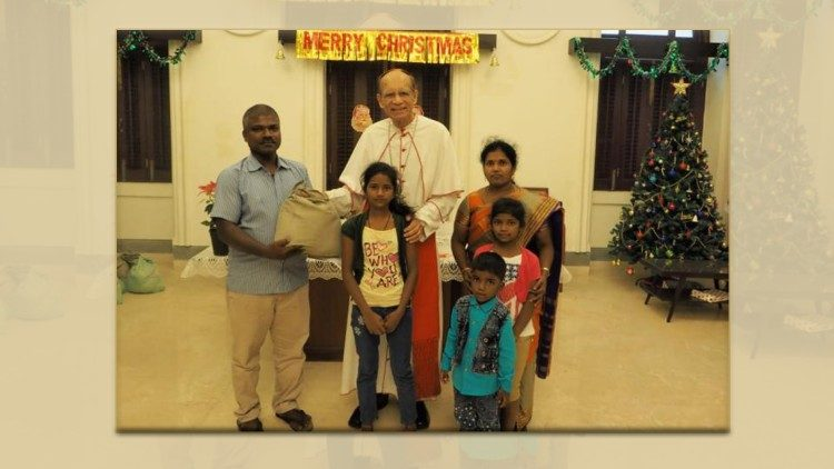 2018.12.28 Cardinal Gracias celebrates Christmas with Dalits immigrants